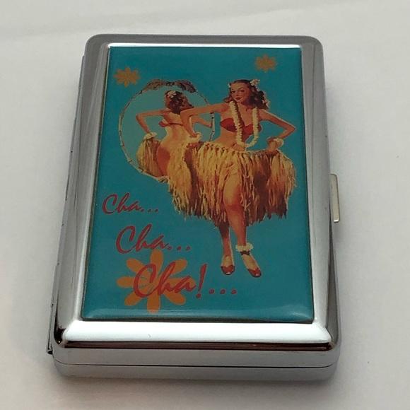 Accessories - 💥Cha Cha Cha'  pinup cigarette case card holder